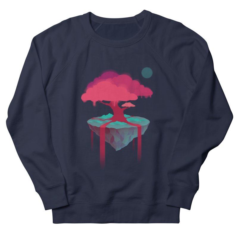 Island Men's French Terry Sweatshirt by eleken's Artist Shop