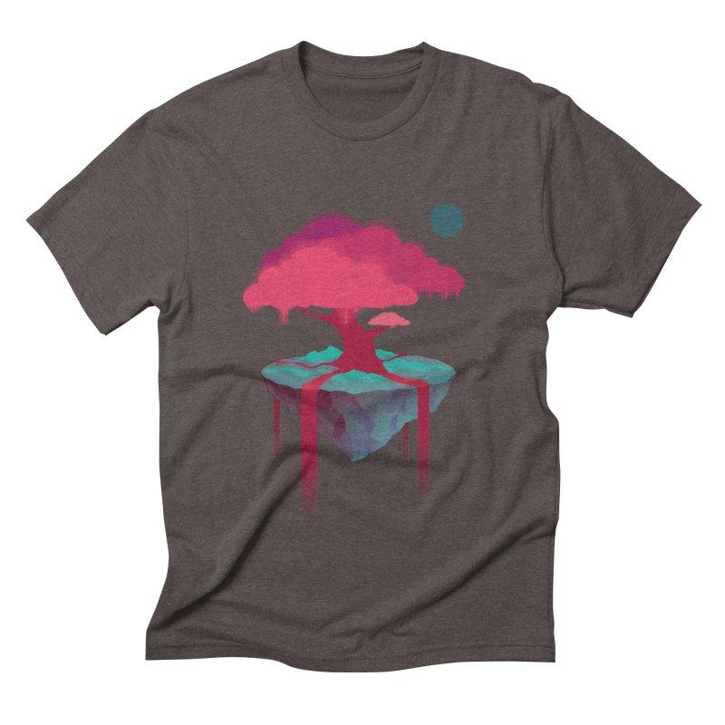 Island Men's Triblend T-Shirt by eleken's Artist Shop