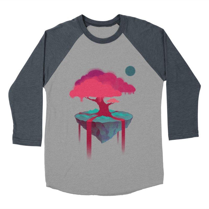 Island Women's Baseball Triblend Longsleeve T-Shirt by eleken's Artist Shop