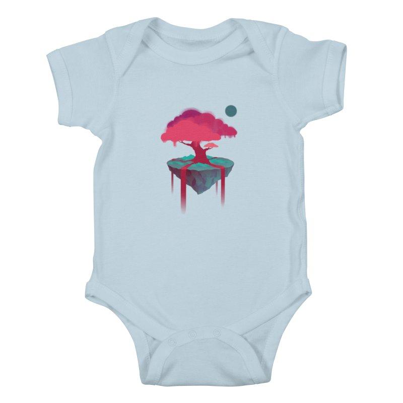 Island Kids Baby Bodysuit by eleken's Artist Shop