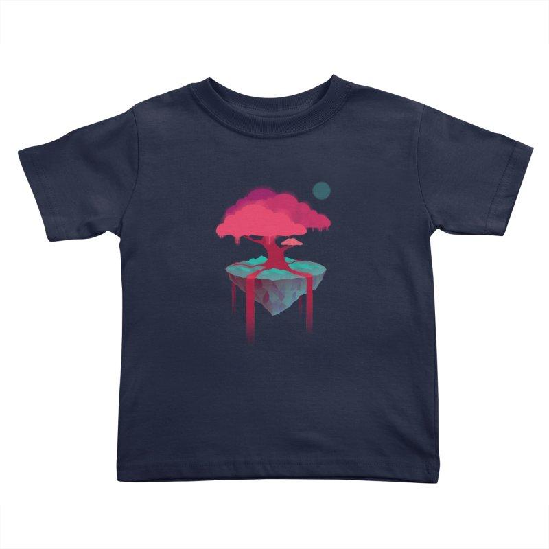 Island Kids Toddler T-Shirt by eleken's Artist Shop
