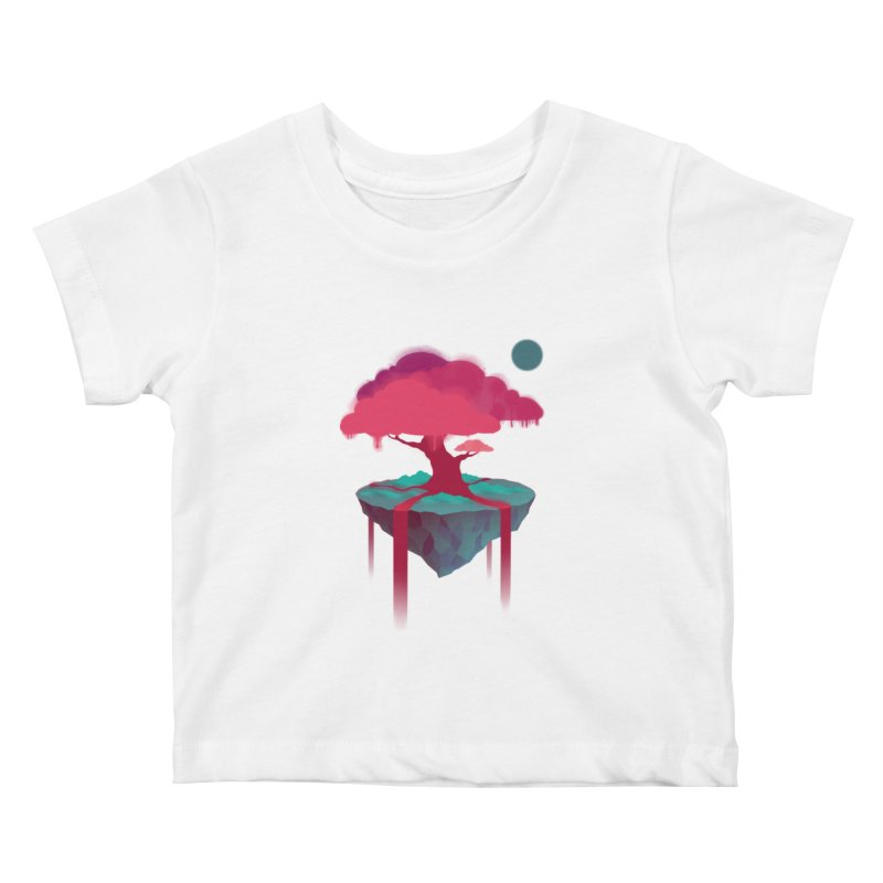 Island Kids Baby T-Shirt by eleken's Artist Shop