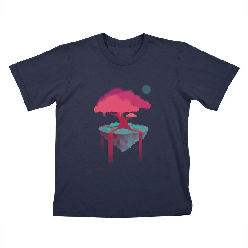 Island Kids T-shirt by eleken's Artist Shop