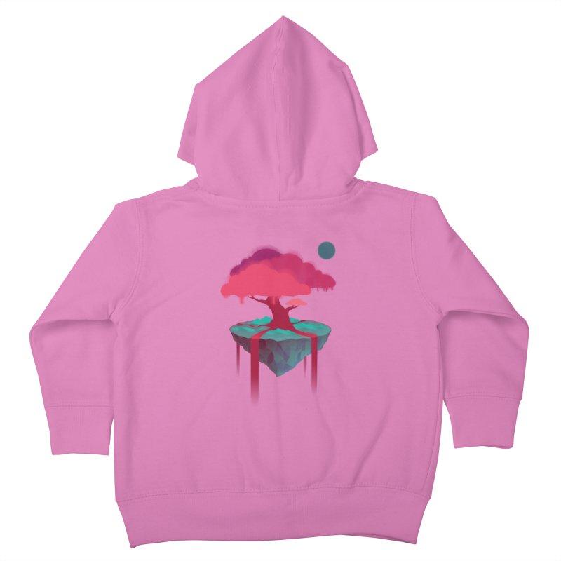 Island Kids Toddler Zip-Up Hoody by eleken's Artist Shop