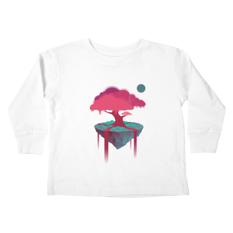 Island Kids Toddler Longsleeve T-Shirt by eleken's Artist Shop