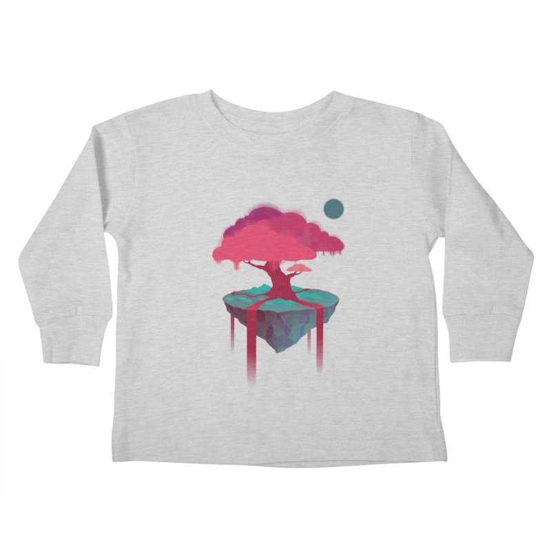 Island Kids Toddler Longsleeve T-Shirt by eleken's Artist Shop