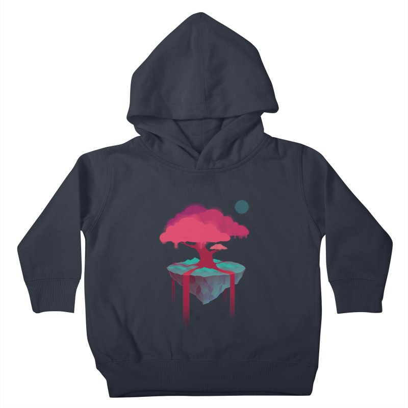 Island Kids Toddler Pullover Hoody by eleken's Artist Shop