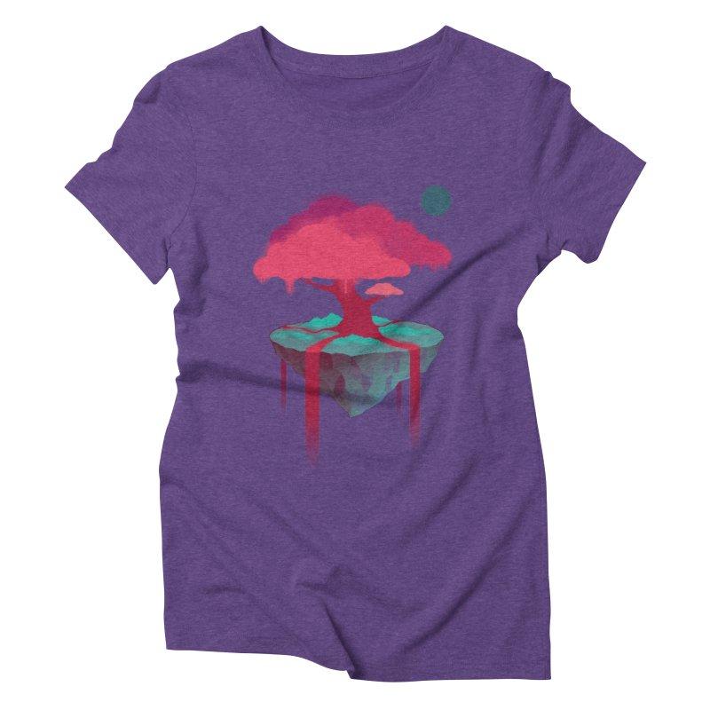 Island Women's Triblend T-Shirt by eleken's Artist Shop