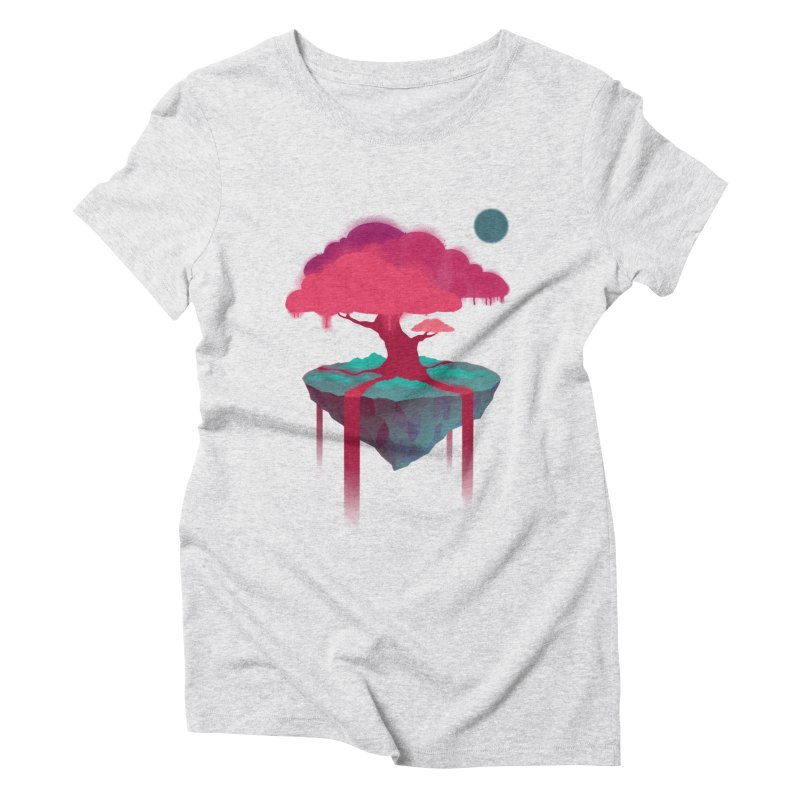Island Women's Triblend T-Shirt by eleken's Artist Shop