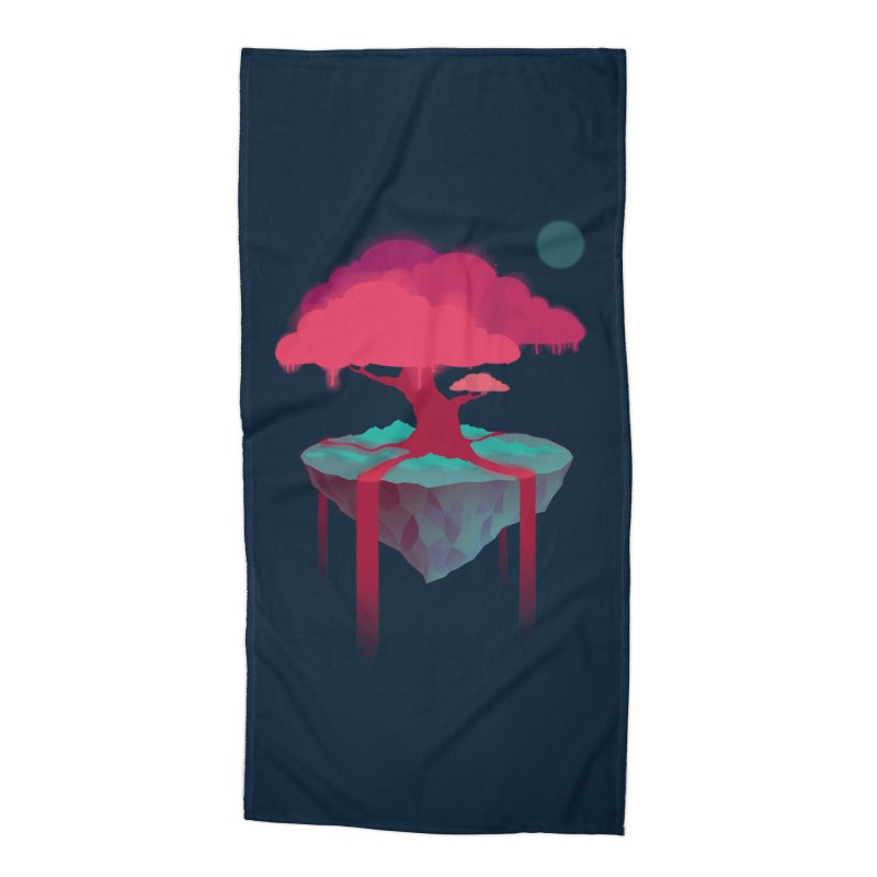 Island Accessories Beach Towel by eleken's Artist Shop