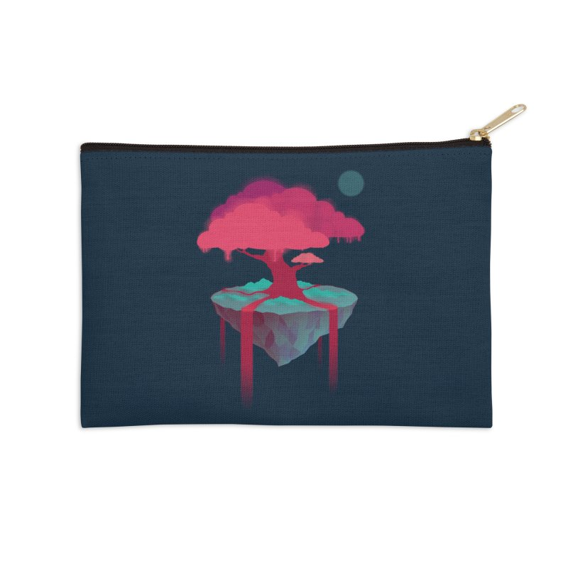 Island Accessories Zip Pouch by eleken's Artist Shop
