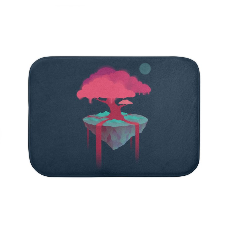Island Home Bath Mat by eleken's Artist Shop