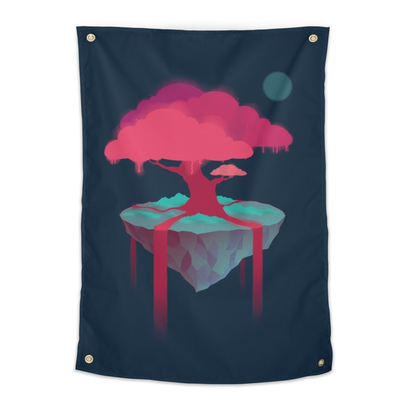 Island Home Tapestry by eleken's Artist Shop
