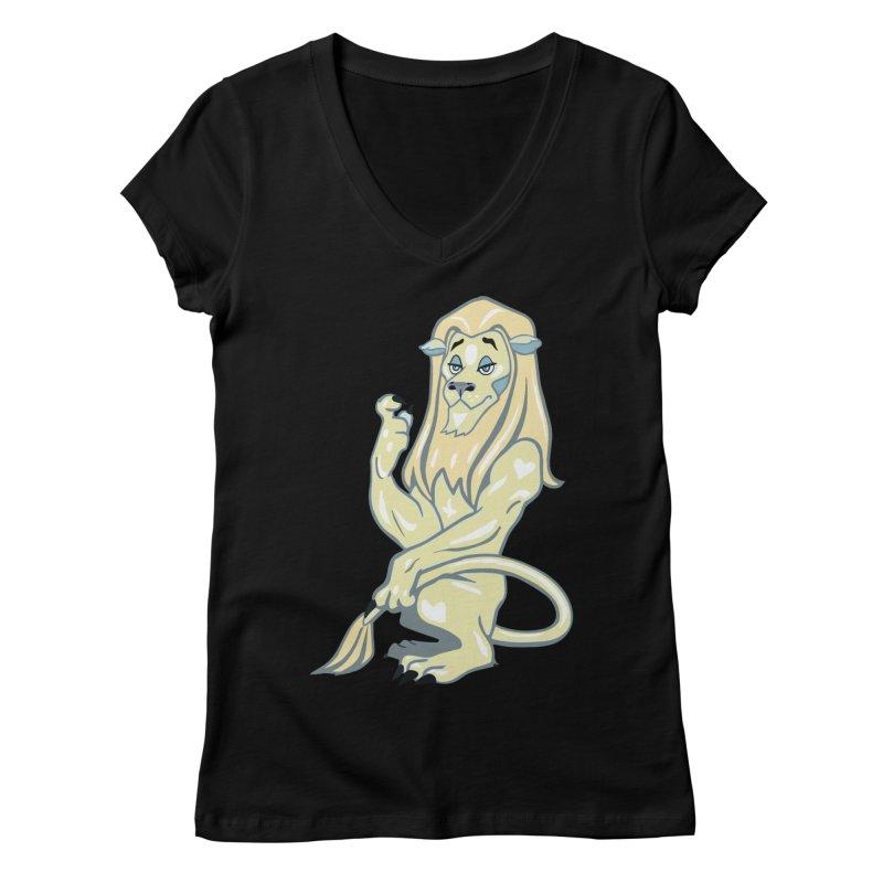 Elemental Aura Women's V-Neck by Elementiad Artist Shop