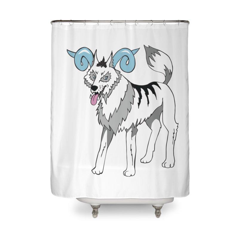 Elemental Wolfram Home Shower Curtain by Elementiad Artist Shop