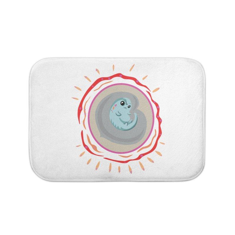 Elemental Neo Home Bath Mat by Elementiad Artist Shop