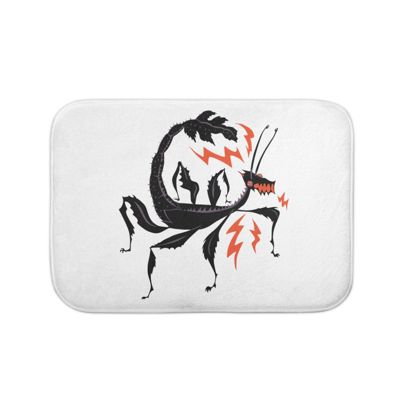 Elemental Lawrend Home Bath Mat by Elementiad Artist Shop