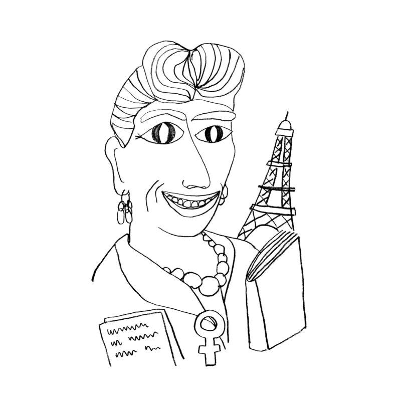 Simone de Beauvoir - Illustration by Elena Losada by elenalosadaShop's Artist Shop