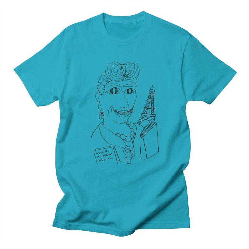 Simone de Beauvoir - Illustration by Elena Losada Men's T-Shirt by ElenaLosada Artist Shop