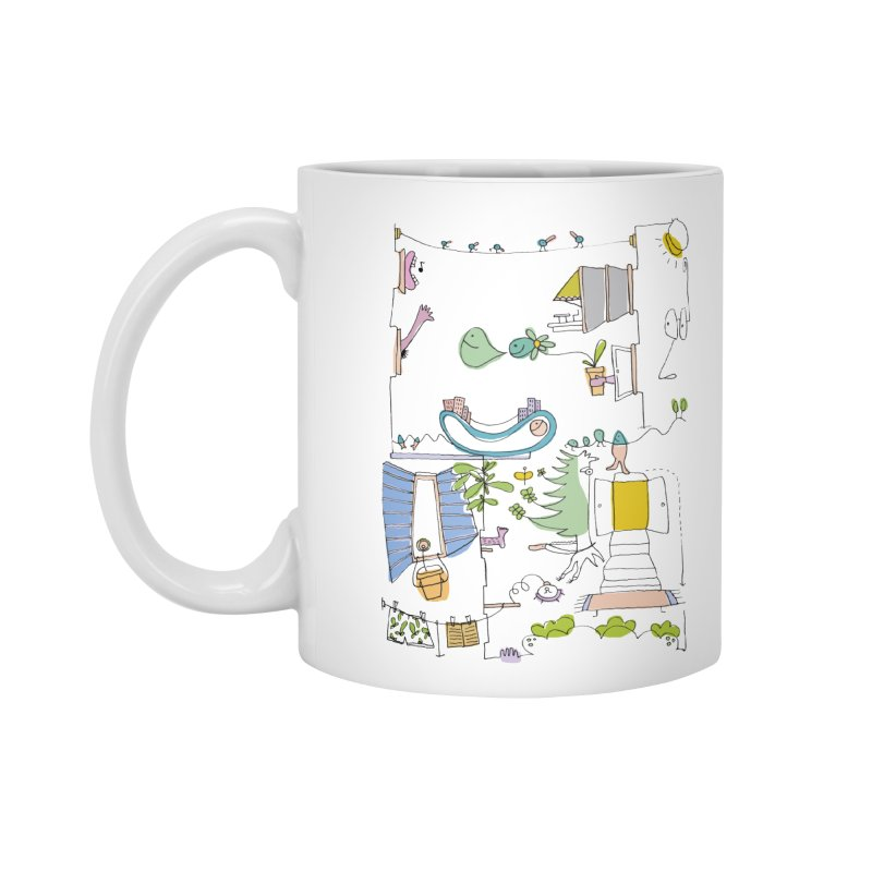 Some doodles in the city by Elena Losada Accessories Mug by ElenaLosada Artist Shop
