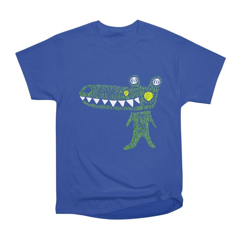 Coco Drilo by Elena Losada Men's Heavyweight T-Shirt by ElenaLosada Artist Shop