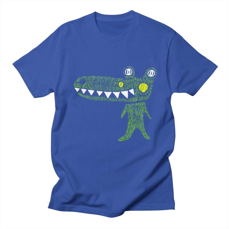 Coco Drilo by Elena Losada Men's Regular T-Shirt by ElenaLosada Artist Shop