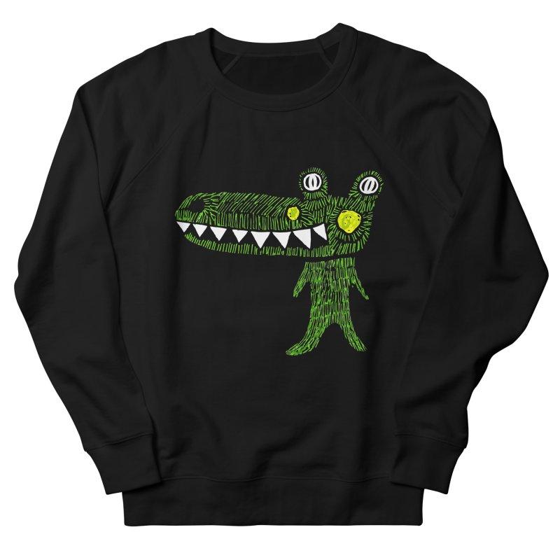 Coco Drilo by Elena Losada Men's French Terry Sweatshirt by ElenaLosada Artist Shop