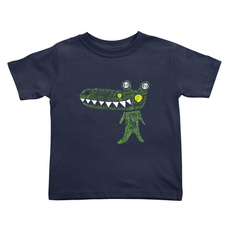 Coco Drilo by Elena Losada Kids Toddler T-Shirt by elenalosadaShop's Artist Shop
