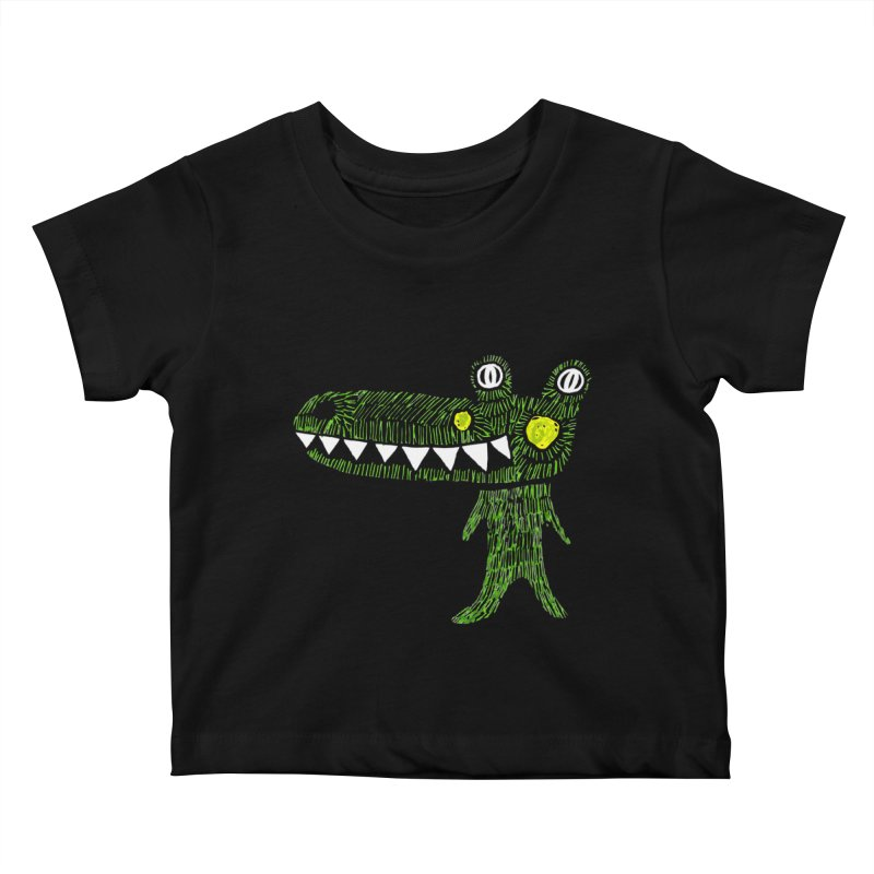 Coco Drilo by Elena Losada Kids Baby T-Shirt by elenalosadaShop's Artist Shop