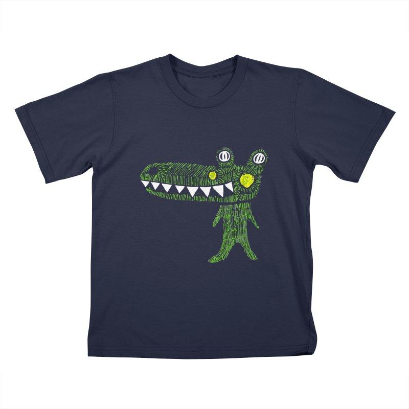 Coco Drilo by Elena Losada Kids T-shirt by elenalosadaShop's Artist Shop