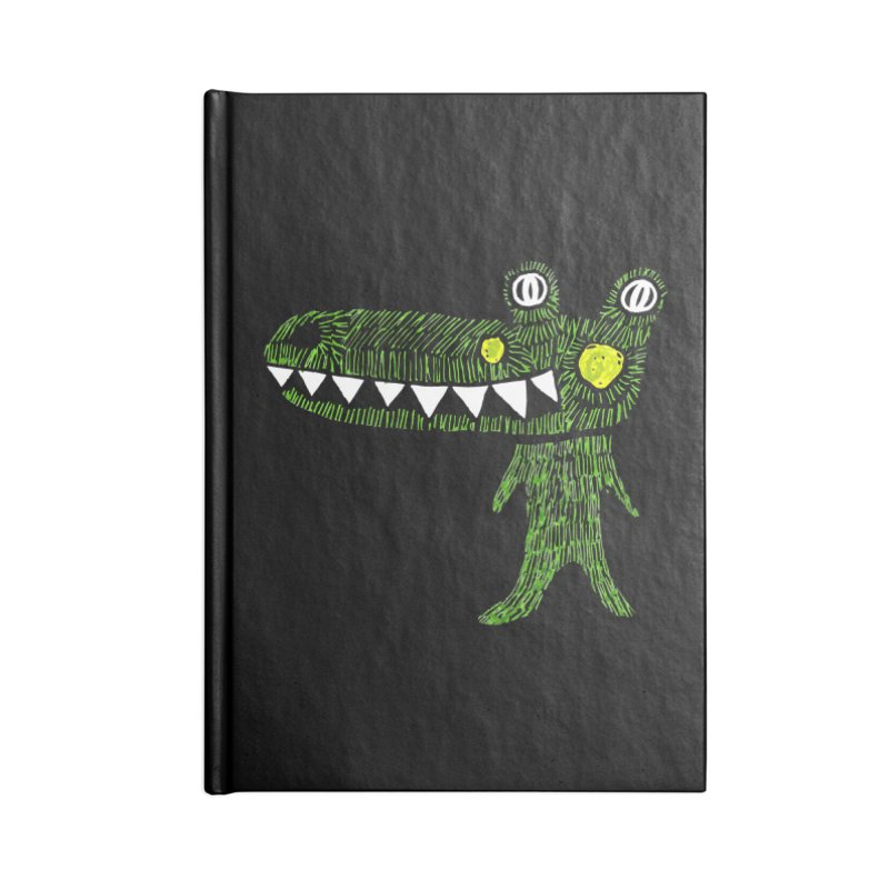 Coco Drilo by Elena Losada Accessories Notebook by ElenaLosada Artist Shop