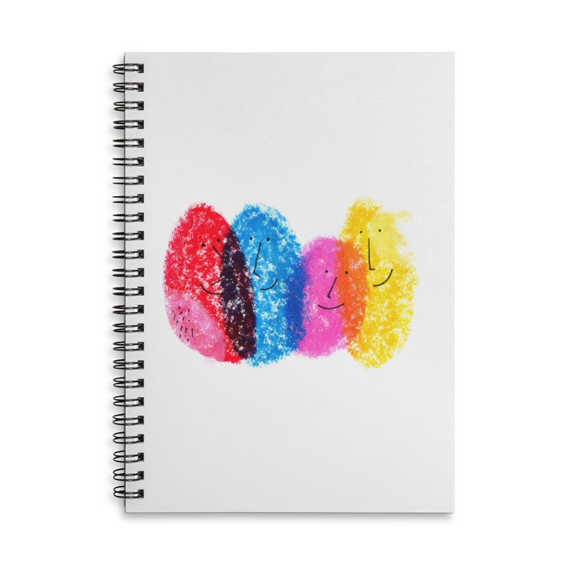Mixing colors by Elena Losada Accessories Lined Spiral Notebook by ElenaLosada Artist Shop