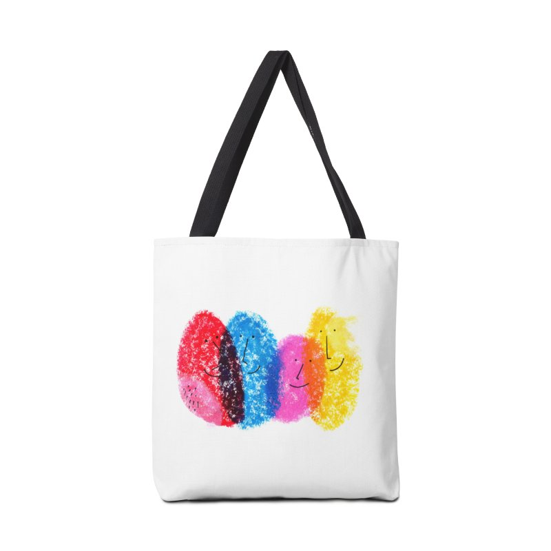 Mixing colors by Elena Losada Accessories Bag by elenalosadaShop's Artist Shop