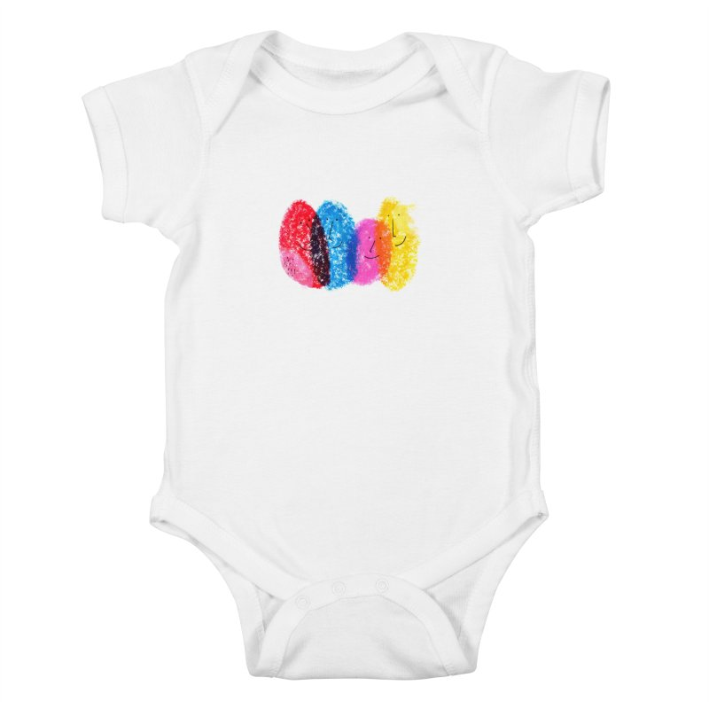 Mixing colors by Elena Losada Kids Baby Bodysuit by ElenaLosada Artist Shop