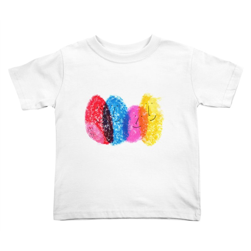 Mixing colors by Elena Losada Kids Toddler T-Shirt by elenalosadaShop's Artist Shop