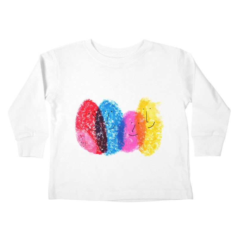 Mixing colors by Elena Losada Kids Toddler Longsleeve T-Shirt by ElenaLosada Artist Shop