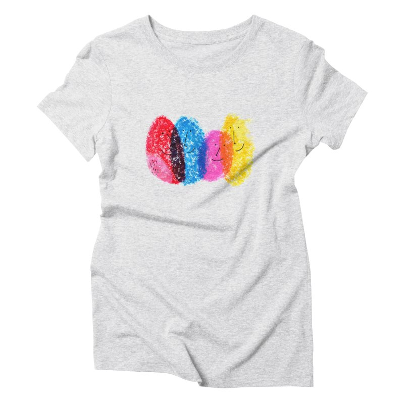 Mixing colors by Elena Losada Women's Triblend T-Shirt by elenalosadaShop's Artist Shop