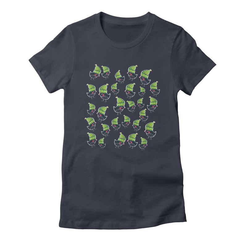 My little birds by Elena Losada Women's Fitted T-Shirt by ElenaLosada Artist Shop