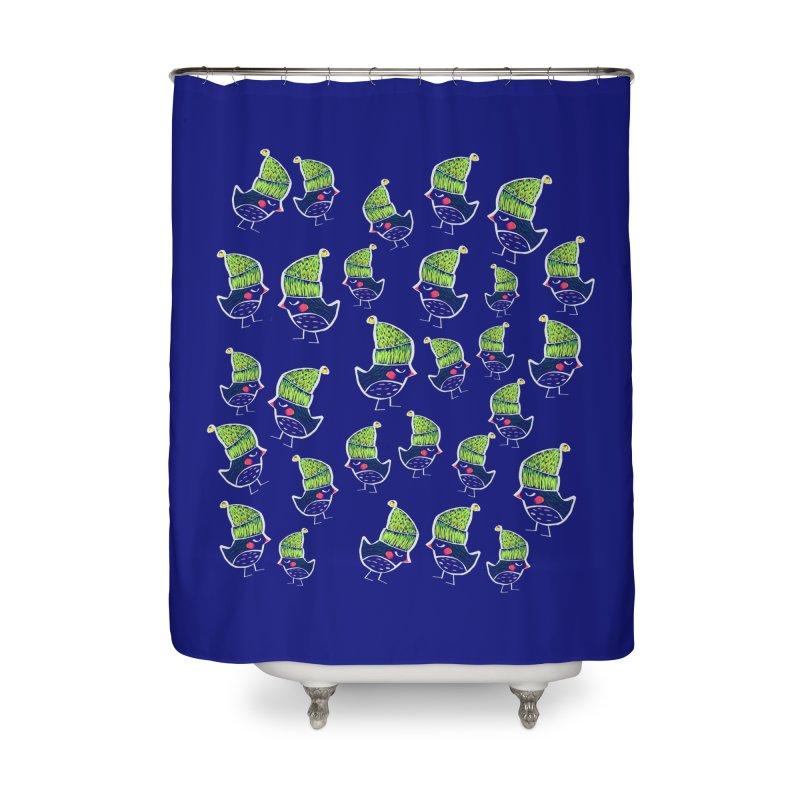 My little birds by Elena Losada Home Shower Curtain by ElenaLosada Artist Shop