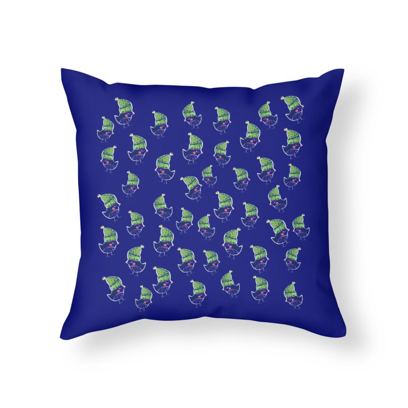 My little birds by Elena Losada Home Throw Pillow by ElenaLosada Artist Shop