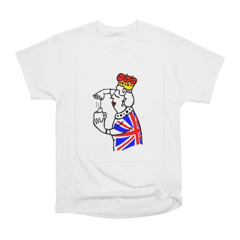 English Tea Men's Heavyweight T-Shirt by ElenaLosada Artist Shop
