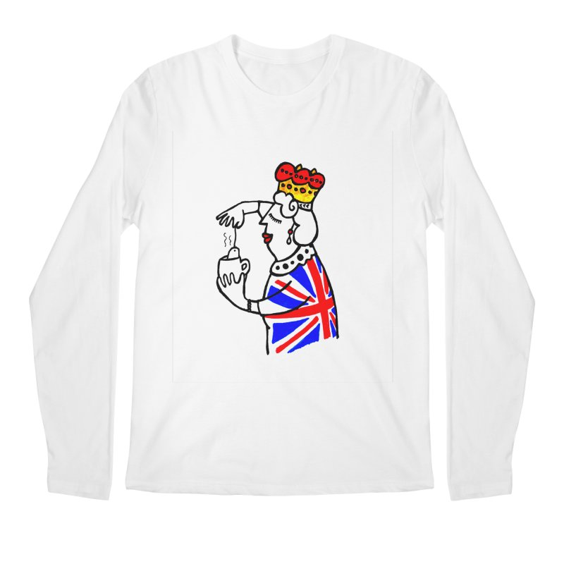 English Tea Men's Regular Longsleeve T-Shirt by ElenaLosada Artist Shop