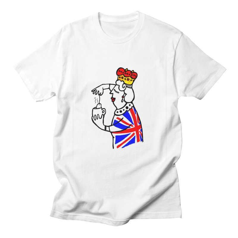 English Tea Women's Regular Unisex T-Shirt by ElenaLosada Artist Shop