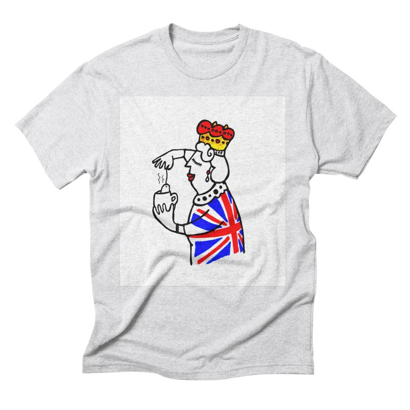 English Tea Men's Triblend T-Shirt by ElenaLosada Artist Shop