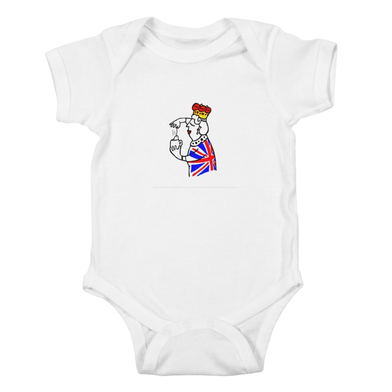 English Tea Kids Baby Bodysuit by ElenaLosada Artist Shop