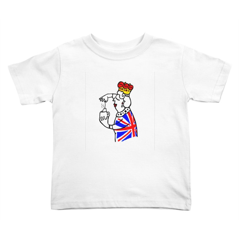 English Tea Kids Toddler T-Shirt by elenalosadaShop's Artist Shop