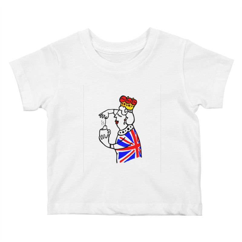 English Tea Kids Baby T-Shirt by ElenaLosada Artist Shop