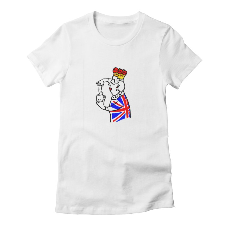 English Tea Women's T-Shirt by ElenaLosada Artist Shop