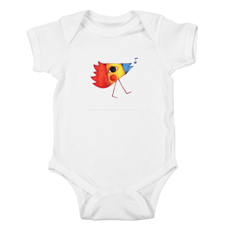 Patopollo Kids Baby Bodysuit by ElenaLosada Artist Shop