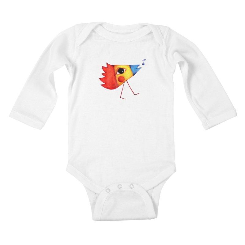 Patopollo Kids Baby Longsleeve Bodysuit by ElenaLosada Artist Shop